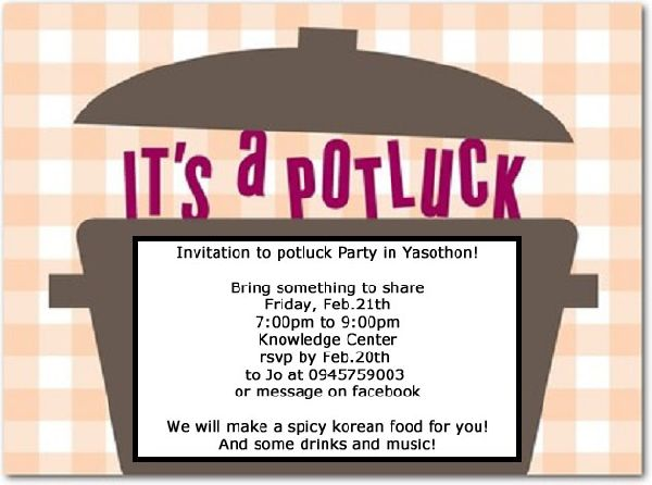International Potluck Party in Yasothon!